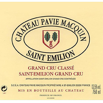 2010 Chateau Pavie Macquin St. Emilion Grand Cru (750ml)