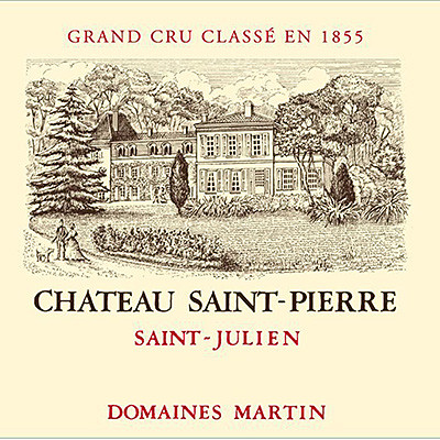 2010 Chateau Saint Pierre, St Julien (750ml)