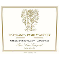 2011 Kapcsandy Family Winery Cabernet Sauvignon (Grand Vin) State Lane Vineyard Yountville (750ml)
