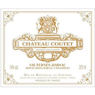 2014 Chateau Coutet, Barsac (750ml)