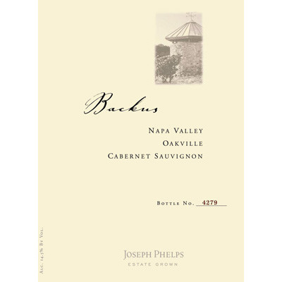 2012 Joseph Phelps Cab Sauv, Backus , Napa (750ml)
