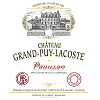 2016 Chateau Grand-Puy-Lacoste Pauillac (750ml)