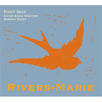 2018 Rivers-Marie Pinot Noir Silver Eagle Vineyard Sonoma Coast (750ml)