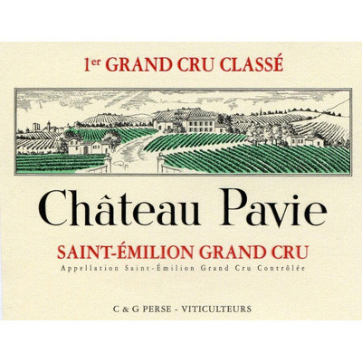 2019 Chateau Pavie, St. Emilion Grand Cru (750ml)