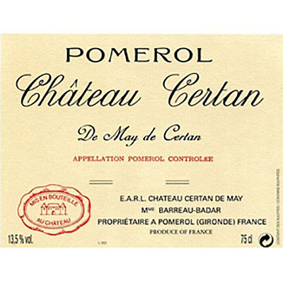 2009 Chateau Certan de May Pomerol (750ml)
