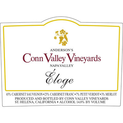 2004 Anderson's Conn Valley Vineyards Eloge Napa Valley (750ml)
