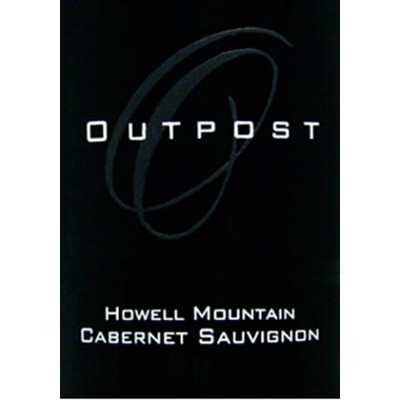 2008 Outpost , Cabernet Sauvignon, Howell Mountain, Napa Val