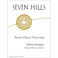 1989 Seven Hills Winery Cabernet Sauvignon Seven Hills Vineyard Walla Walla Valley (750ml)