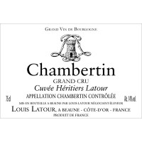 1985 Louis Latour Chambertin Cuvee Heritiers Latour (750ml) [Label conditions.]