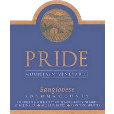 2003 Pride Mountain Vineyards, Sangiovese, Sonoma County (50