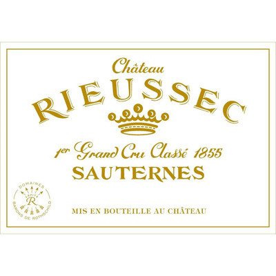 1983 Chateau Rieussec Sauternes (750ml) [VHS; Wine-stained.]