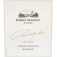 1982 Robert Mondavi Winery Cabernet Sauvignon Reserve Napa Valley (750ml) [SLC; Corroded capsules.]