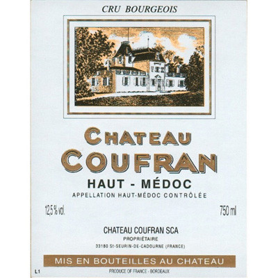 1982 Chateau Coufran Haut-Medoc (750ml) [VHS; SLC]