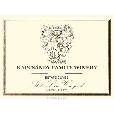 2006 Kapcsandy Family Winery, Estate Cuv?e, State Lane Viney