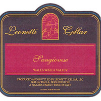 2014 Leonetti Cellar Sangiovese, Walla Walla Valley (750ml)