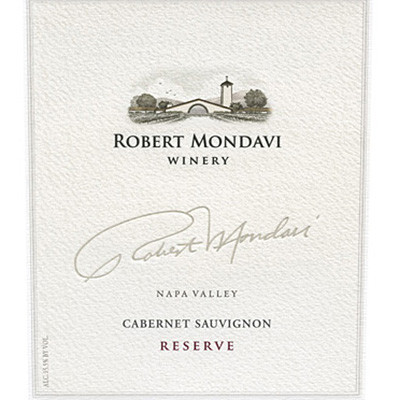 2001 Robert Mondavi Winery Cabernet Sauvignon Reserve Napa Valley (750ml)