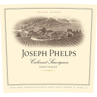2007 Joseph Phelps Cabernet Sauvignon Napa Valley Napa Valley (750ml) [OK (2): Nicked Cap, Wine Stained Label (2)