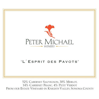 2010 Peter Michael L'Esprit des Pavots Knights Valley (750ml)